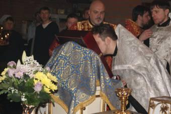 Поклонение образу и святым мощам вмц. Варвары