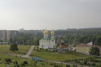 Общий вид будущего храмового комплекса