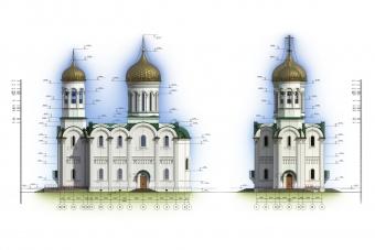 Проект храмового комплекса