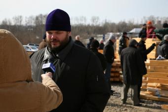 Интервью настоятеля храма, протоиерея Дмитрия Мошкина