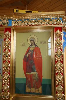 Икона св. вмц. Варвары