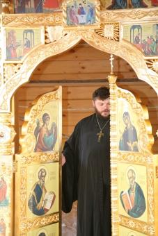 Царские врата нового иконостаса