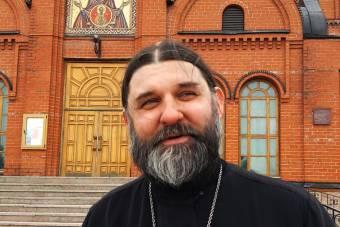 О. Евгений Сидорин о Пасхальной ярмарке